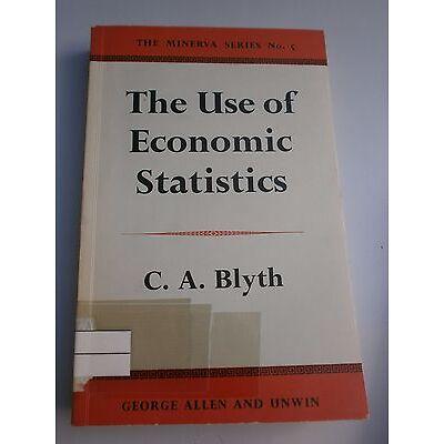 The use of economic statistics Blyth, Conrad:
