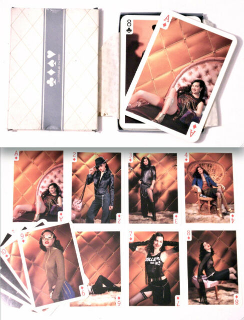 CARTE DA GIOCO EXTRA LARGE DIESEL STYLE LAB PLAYING CARDS -POKER SEXY HOT MODELS