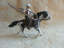 SCHLEICH 70303 Cowboy con lazo su Cavallo Western Indiani