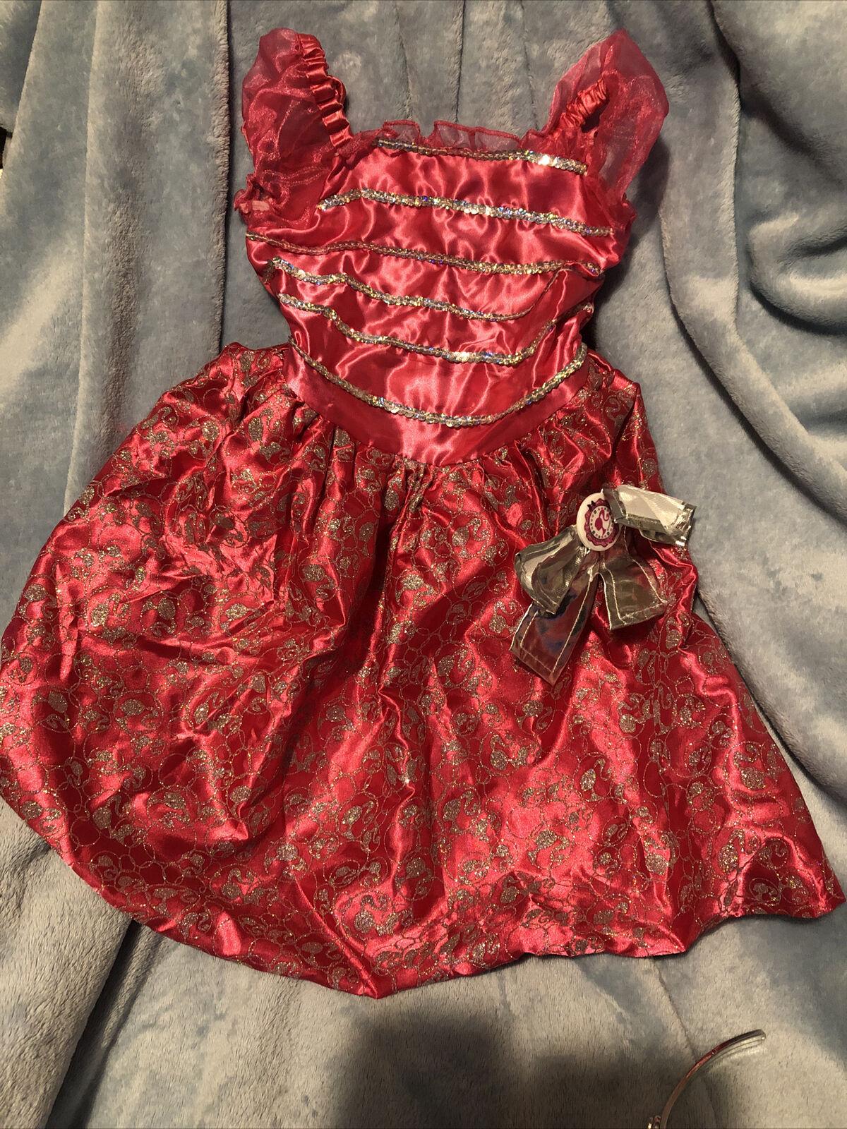 Barbie Princess Fancy Dress And Tiara Age 3-5 Years