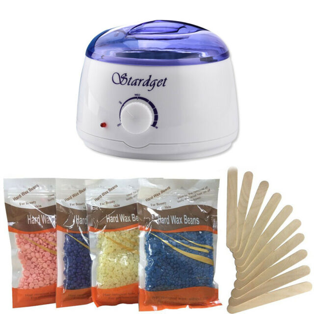 Wax Warmer Femiro Hair Removal Home Waxing Kit With 4 Flavors