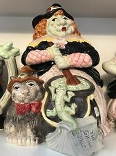 Fitz and Floyd Witch Cookie Jar