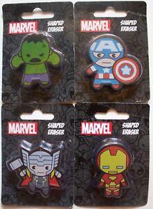 Marvel En Forme De Gomme, Thor, Iron Man, Captain America, Hulk Neuf-afficher Le Titre D'origine