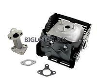 Muffler Exhausted Assembly Manifold W Heat Shield Honda Gx340 Gx390 11hp 13hp