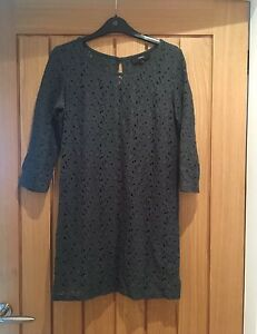 Next-Bottle-Green-Tunic-Size-6-Perfect-Condition