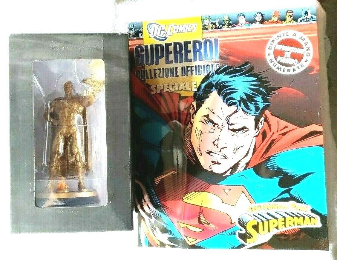 DC COMICS SUPEREROI COLLEZIONE UFFICIALE specialeee SUPERuomo CENTENNIAL  EAGLEMOSS  molte concessioni