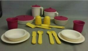 Vtg Step 2 Fun W Play Food For Little Tikes Pretend Dishes Pots Pans Pitcher Ebay