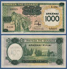 GRIECHENLAND / GREECE 1000 Drachmai 1939 II / XF  P.111
