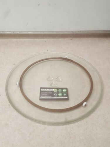 GOLDSTAR MV-1525W MICROWAVE GLASS TURNTABLE W/ SUPPORT RING, TESTED, FS!