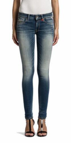 Replay HyperFlex Jeans Femmes Luz wx689-661-523 Slim Fit Light Blue