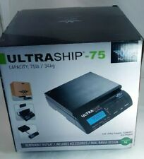 Digital Scale Myweigh Ultra75 Ultraship Package Letter 75lbs Used