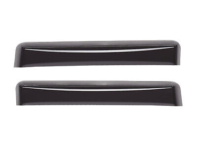 Light Smoke WeatherTech Custom Fit Front /& Rear Side Window Deflectors for Cadillac SRX
