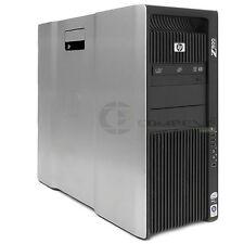 HP Computer Z800 nVidia Quadro 6000 FF825AV 2x E5506 2.13GHz 24GB RAM 480GGB SSD