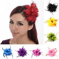 Belly Dance Tribal Party Wedding Hair Headpiece Head Flower Pin Brooch Clip HOT