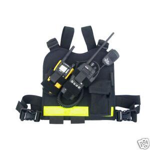 Paramedic/EMT/Firefighter Radio Chest Harness-Motorola | eBay