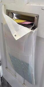 Original Mail Catcher Bag Sack Front Garage Door Slot