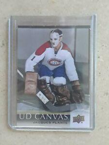 2018-19-Upper-Deck-Canvas-C250-Jacques-Plante-RS-Montreal-Canadiens