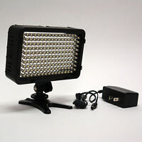 Pro 4k Hd Led Video Light With Ac Power Adapter For Sony Hxr Nx100 Ax1 Camcorder