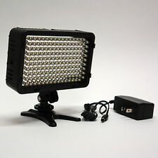 Pro 4K AC/DC on camera LED video light panel for Panasonic GH4 GH3 FZ1000 G