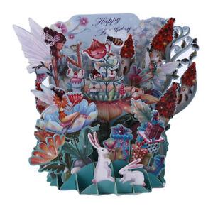 3D-Laser-Tale-Tree-Cut-Handmade-Happy-Birthday-Paper-Invitation-Greeting-Card-S