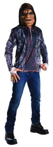 Da Uomo Killer Croc Costume Di Halloween Costume Kit Completo da Ufficiale Squadra SUICIDA