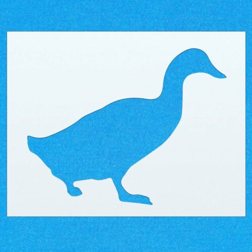 Duck Bird Flying Animal Mylar Airbrush Painting Wall Art Stencil