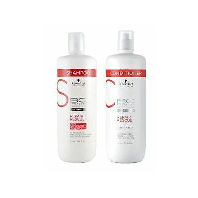 Schwarzkopf Bc Repair Rescue Shampoo & Conditioner Combo-For Damaged Hair-1000ml