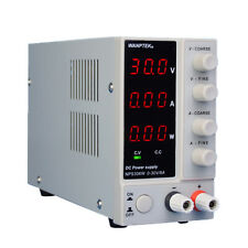 Nps306w Dc Power Supply Variable 0 30v0 10a Switching With3 Digital Lcd Display