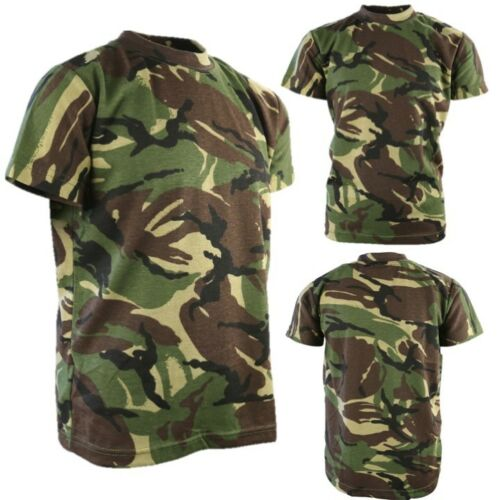 WORLD BOOK DAY BOYS ARMY SOLDIER COSTUME KIDS TROUSERS CAP T-SHIRT VEST DPM CAMO