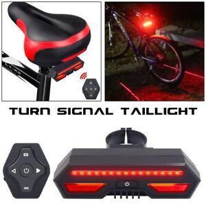 Bicycle-Bike-Rear-Tail-Laser-LED-Indicator-Turn-Signal-Light-Wireless-Remote-USB