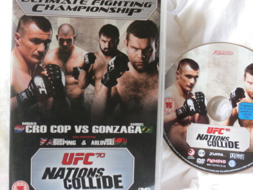 1 of 1 - UFC Ultimate Fighting Championship - 70: Nations Collide Cro Cop & Gonzaga **