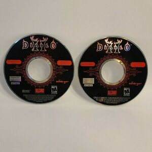 Diablo-II-034-Install-Disc-034-And-034-Cinematics-Disc-034-PC-Game-Blizzard-Entertainment
