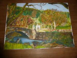 Bild Öl Gemälde ohne Rahmen Landschaft Natur - Wörrstadt, Deutschland - Bild Öl Gemälde ohne Rahmen Landschaft Natur - Wörrstadt, Deutschland