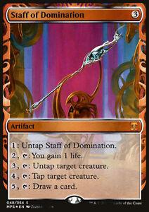 Baton-de-domination-PREMIUM-FOIL-Staff-of-Kaladesh-Invention-Magic-Mtg