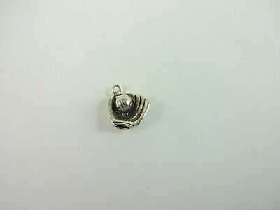 18 Mireval Sterling Silver Enamel Duck Charm on a Sterling Silver Carded Box Chain Necklace