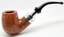 Peterson Natural Briar Silver Mounted Spigot Large Bent Pipe (xl90s) 167