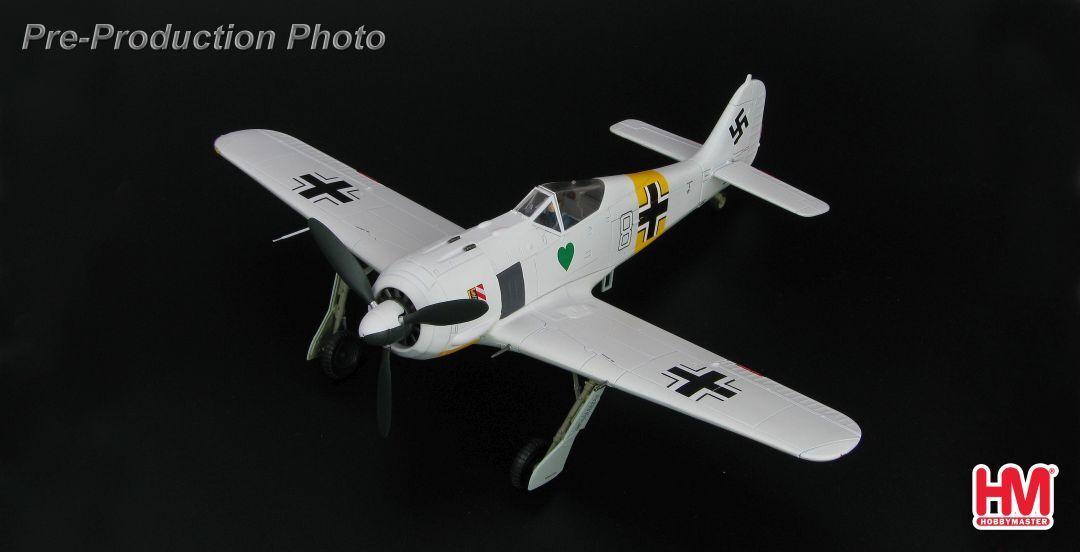 Hobby Master HA7421, FW 190A-4,  White 8 , 1. Staffel I. Gruppe, JG.54,  Eastern