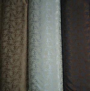 Gardinen vorhang deko stoff meterware barock stil 3 farben - Gardinen barock ...
