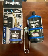 Bernzomatic Ul100 With Fat Boy Solid Brass Torch Kit 20 More Propane