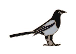 Magpie Pin Badge