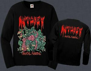 Autopsy mental funeral usa death metal band t shirt long for Xxl band t shirts