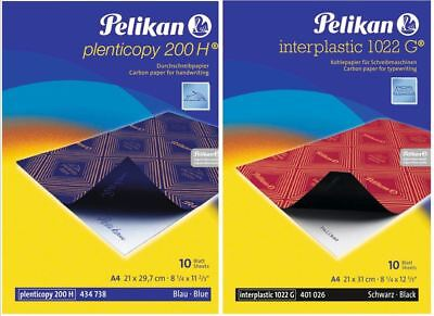 blau A4 Pelikan 404426 Durchschreibpapier plenticopy 200H 100 Blatt