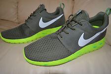 New Nike Mens Roshe M One Run Running Shoes 669985-200 Sz 10.5 Medium Olive
