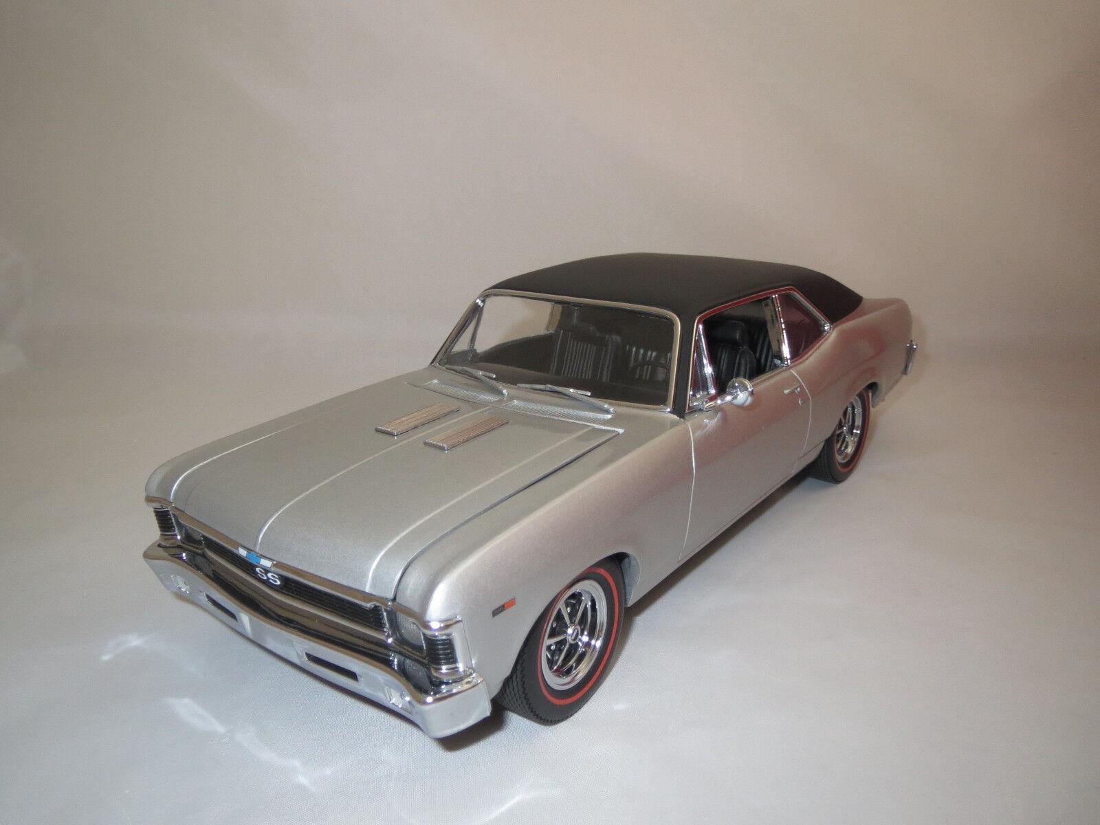 GMP Chevrolet Nova  1969  (argent) 1 18 sans emballage