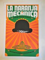 Rare A Clockwork Orange Original Cuba Serigraph Silkscreen Movie Poster Ponce