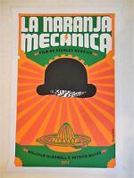 Rare A Clockwork Orange Original Cuba Serigraph Silkscreen Movie Poster Ponce