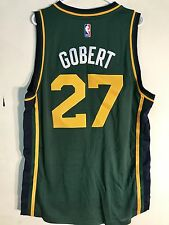 Adidas Swingman 2015-16 NBA Jersey Utah Jazz Rudy Gobert Green sz L