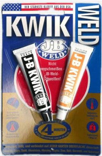 Jb Weld - Kwik Pegamento,Resistente Al Calor,a Prueba de Ácidos Adhesivo