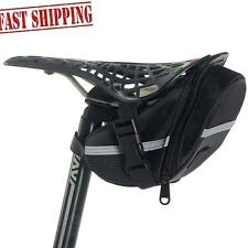 Newdora Waterproof Bike Cycling Bicycle Saddle Bag Rear Tail Seat Pouch USA Fast