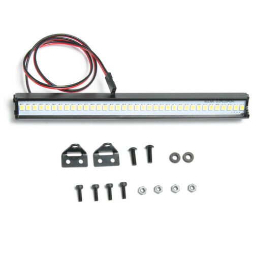 Details about  /36 LED Super Bright Light Bar Metal Roof Lamp for 1//10 RC Crawler Traxxas TRX4